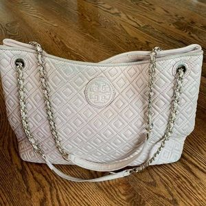 Tory Burch Marion light pink Tote Bag